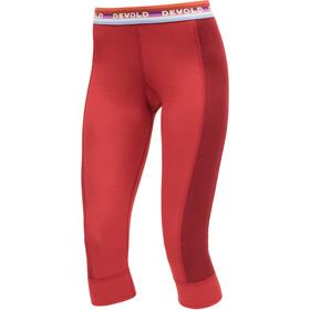 Devold Hiking - Ropa interior Mujer - rojo
